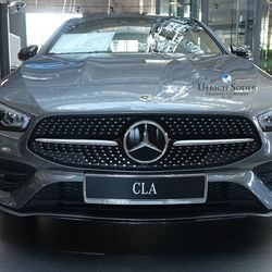 Mercedes CLA  with AMG line