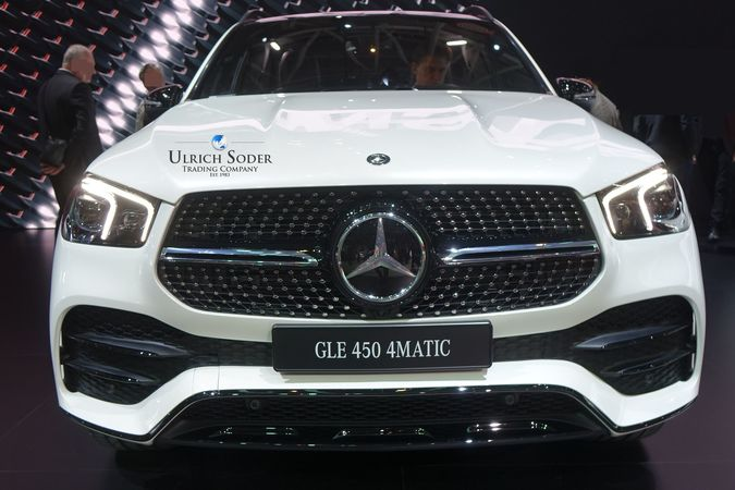 Mercedes GLE 450 4matic with AMG line