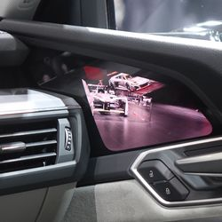 Audi e-tron with cameras insted of mirros