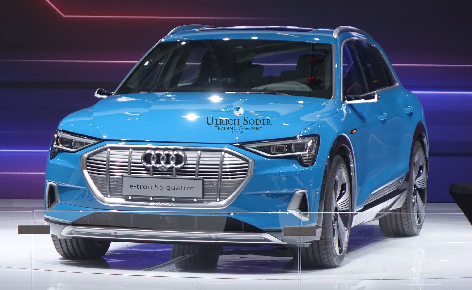 audi presents the e-tron and q8 at the paris motor show